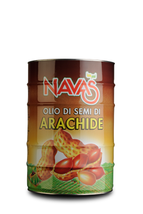 Olio di Semi di Arachide in Latta da 25 Lt.